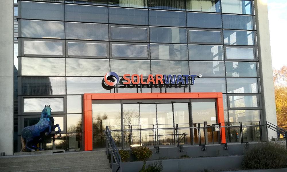 Le Président de SOLETHIX en visite à SOLARWATT en Allemagne